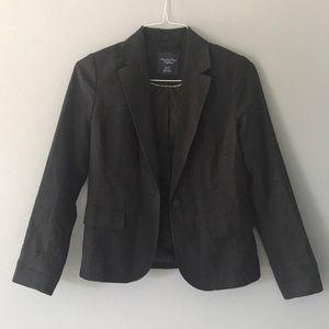 American Eagle Black Blazer Petite XS